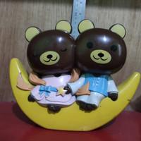 Bear Brand Moon Coinbank