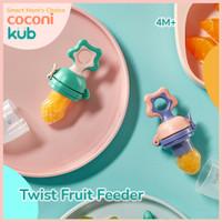 KUB Baby Twist Food/Fruit Feeder   Dot Empeng Buah Bayi   Teether Mash