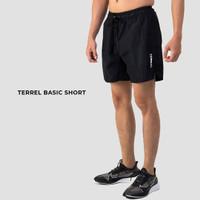 Basic short black terrel