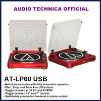 Audio Technica AT-LP60 USB Fully Automatic Stereo Turntable System