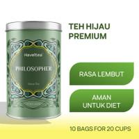 PHILOSOPHER | Big Tin | Haveltea | Teh Hijau | Green Tea Sinensis