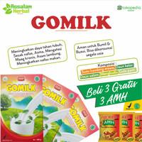 SUSU KAMBING ETAWA Gomilk Herbal Asma TB Lambung Maag