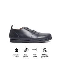 Sepatu Kerja Kulit Otiv Osaka Black