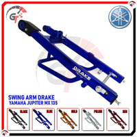 SWING ARM SWINGARM JUPITER MX 135 DRAKE RACING SASIS AYUN MX135 - BLUE