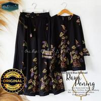 Setelan Fashion Rok Batik Halus Wanita Pekalongan - Motif 1, all size