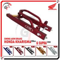SWING ARM SWINGARM HONDA KHARISMA SUPRA 125 SASIS AYUN SUPERTRACK - RED