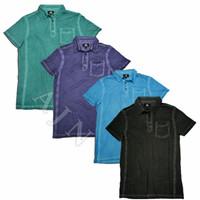 Kaos Polo, Polo Shirt, Kaos Kerah Rock & Republic Hitam