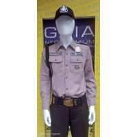Baju seragam satpam - security terbaru PDL SUS Bahan GAIA Neo Premium