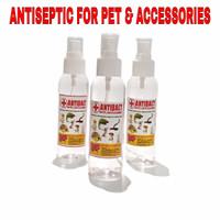 100 ML ANTIBACT Antiseptik desinfektan kandang reptile hewan tortoise