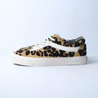 Sepatu Sneaker VANS BNIB BOLD NI ANIMAL LEOPARD MARSHMALLOW