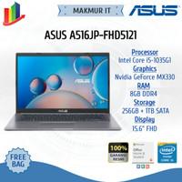 ASUS A516JP-FHD5121(15.6, i5-1035G1/MX330/4G+4G/1TB+256 PCIE/FHD/GRY