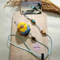 Kalung Masker Strapmask 2 Fungsi Mainan Anak tali panjang 053