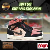 Sepatu Nike Air Jordan Pink Hitam / sepatu Air Jordan / sepatu basket