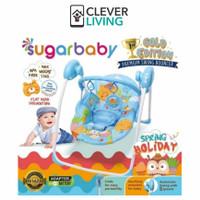 Sugar Baby Gold Edition Premium Swing Bouncer / Bouncer Bayi #03 - Biru