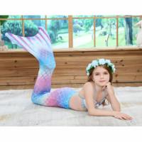 Baju Renang Kostum Mermaid Putri Duyung Anak Tail mermaid 3