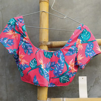 Baju renang roxy XL /Crop top roxy/Bikini roxy original/Baju surf ori