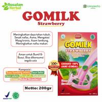 [ PROMO ] BUY 3 FREE 3 Jahe AMH | GOMILK Strawberry Susu Kambing Etawa
