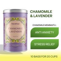 CHAMOMILE LAVENDER | Big Tin | Haveltea | Floral Green Tea