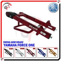 SWING ARM SWINGARM YAMAHA FORCE 1 DRAKE RACING SASIS AYUN FORCE ONE - RED