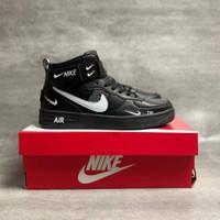 Sepatu Nike Air Force 1 Mid ' 07 Lv 8 Utility Black - 39