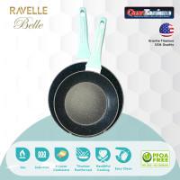 RAVELLE BELLE Set 2 Pcs - Panci Masak Korea Anti Lengket