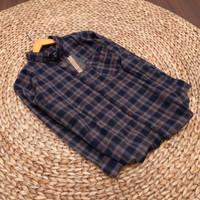 [New]kemeja flanel pria lengan panjang premium (pola slimfit)shirt 008