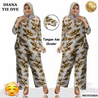 Baju Setelan Wanita Muslim Big Size Jumbo SET DIANA Tie Dye TER