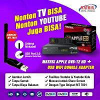 Set Top Box DVBT Matrix Apple HD Digital Antena UHF DVB T2 Tv