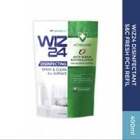 WIZ24 Disinfektan Spray & Clean Refill Clean Scent 400ml