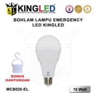 KINGLED !! EMERGENCY LAMP 10WATT / LAMPU MAGIC 10W / LAMPU DARURAT 10W