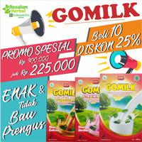PAKET RESELLER GOMILK - Susu Kambing Etawa 10 Pcs @200gr Update Harian
