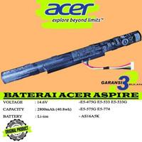Baterai Original Laptop Acer Aspire E5-575G E5-576G E5-774G AS16A5K