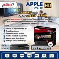 RECEIVER TV SET TOP BOX MATRIX APPLE DVB-T2 DIGITAL DVBT2 ANTENA APEL