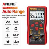 Multimeter Multitester Digital Aneng M118a Avometer Auto Range TrueRMS