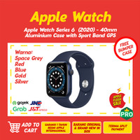 Apple Watch Series 6 2020 40mm Aluminum Case with Sport Band GPS