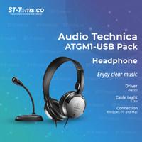 Audio Technica ATGM1-USB PACK Headphone & Microphone Pack for WFH