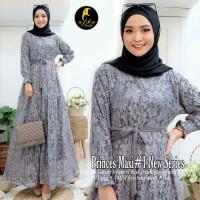 Baju Gamis Wanita Muslimah Pesta Kondangan Modern Terbaru Princes Maxy
