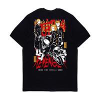 Kaos Pria Kizaru T-Shirt Anime Tokyo Revengers TOUMAN