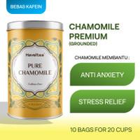 PURE CHAMOMILE   Big Tin   Haveltea   Floral Tea   Sleep Anxiety Aid