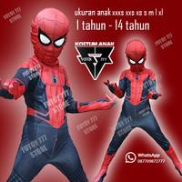 Kostum anak SPIDERMAN FAR FROM HOME baju SPIDER-MAN HOMECOMING costume