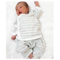 CHIYO-Baju KIMONO tangan panjang+celana panjang buka kaki baby 0-3 bln
