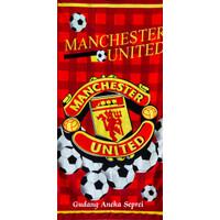 Handuk Karakter Bola M.United ukuran 70x140cm