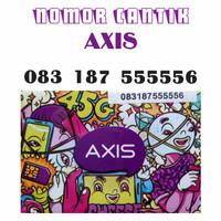 Nomor Cantik Kartu Perdana Axis 4G Lte 083 187 555556