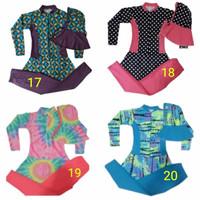 Baju Renang Muslimah anak Perempuan 7-9 Tahun