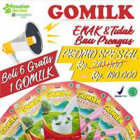 [ PROMO ] BUY 6 FREE 1 GOMILK | Susu Kambing Gomilk 200gr