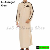 Baju gamis pria jubah saudi muslim