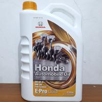 Oli mesin Honda E-pro gold sae 0W-20 galon-isi 4 liter fully syntetic