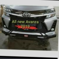 towing bar besi bemper depan arb mobil grand all new avanza 2019