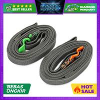 Aolikes Strap Pengikat Tas Koper Luggage Metal Quick Hook Rope