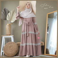 gamis wanita terbaru sahna Maxi dress muslim pengajian wanita terlaris
